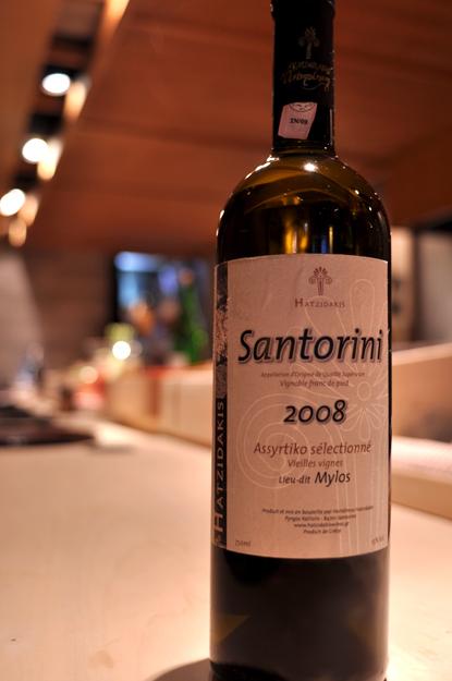 ギリシャワイン「サントリーニ」