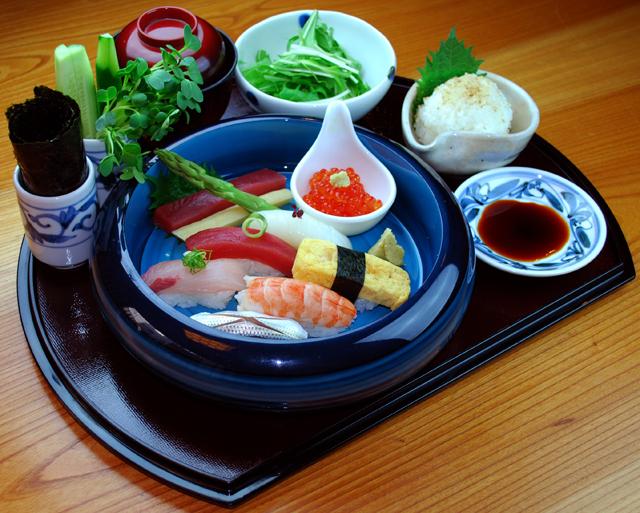 ■江戸前 一朗 お寿司御膳 ■1,300円